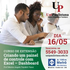 UniPaulistana - Criando um Painel de Controle com Excel Dashboard