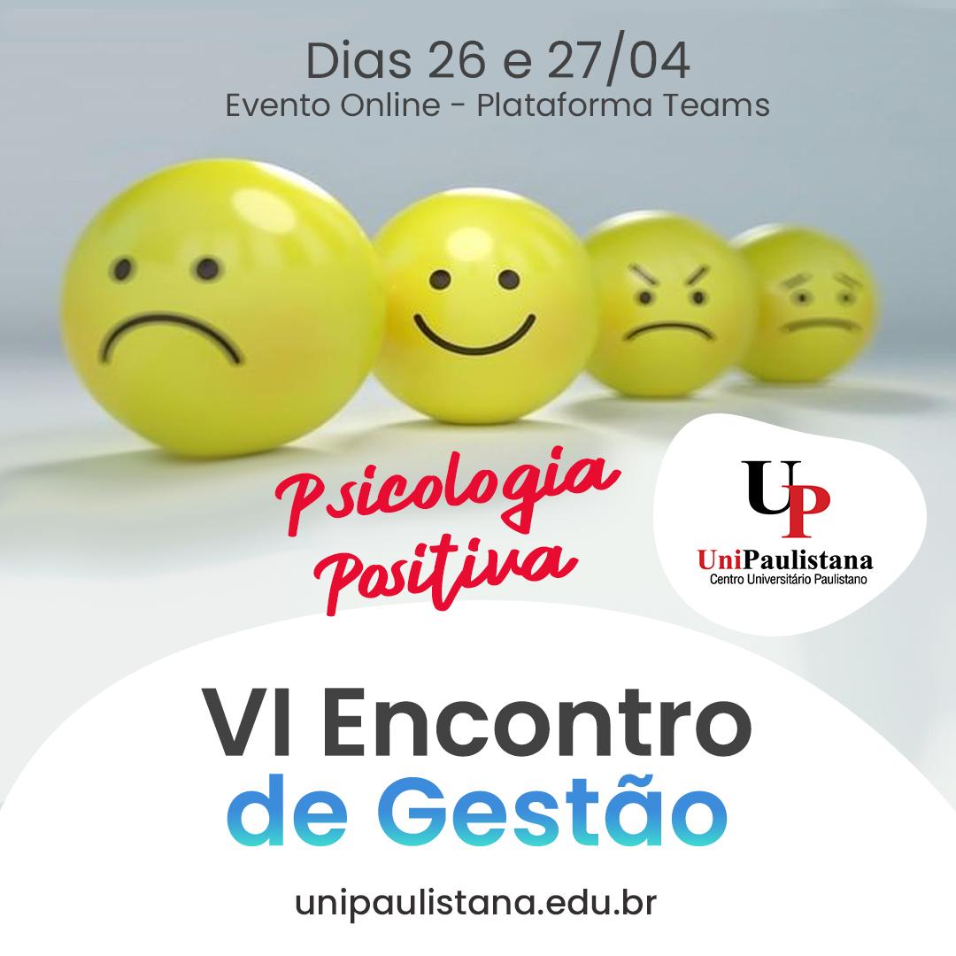 VI Encontro de Gestão UniPaulistana